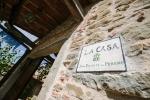 La Casa in Chianti Front Door