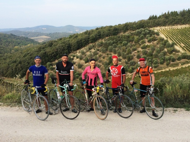 Heroic Tourists of L'Eroica