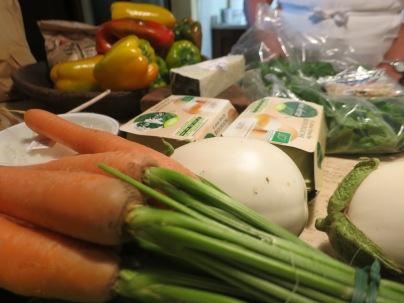Spesa al Mercatale degli agricolotori, Montevarchi